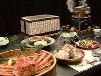 越前蟹料理は3月末まで