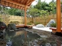 のんびり、ゆったり、無料の貸切り露天風呂(予約制)