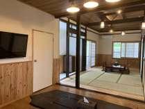 和室とダイニング