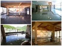 3階大浴場『美泉』~露天風呂・和風風呂・ジャグジー風呂など大小様々な湯船をお楽しみいただけます