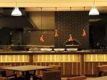 新設されたライブキッチンで、焼きたて出来立ての美味しい味をおなかいっぱい楽しんで♪