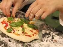 拘りもちもちのピザがあなたの食欲をそそります♪