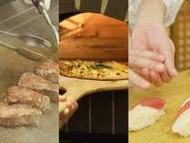 ◆夕食ビュッフェ一例/季節毎の旬なメニューなど、一品一品こだわっています!