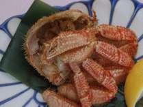 嬉しい食べ切りサイズの毛蟹半身♪