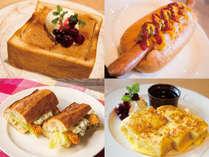 BirchTerraceの朝食は、選べるメインが4種類♪