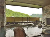 【露天風呂】定山渓の山肌に季節を想いながら入る露天風呂は格別!