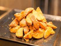 【ビュッフェ】朝食、お芋のほくほくした味わいが楽しめる朝食のポテト
