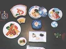 夕食セットメニュー:サンプルA