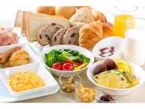 朝食バイキング ~洋食盛り合わせ一例~