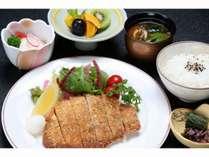 広島産豚ロースのおろしカツレツ御膳