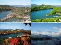 四季の恵那峡