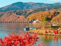 【とっておき!秋の料理フェア】≪期間限定≫恵那峡遊覧船乗船券付き秋の旬味「極」プラン