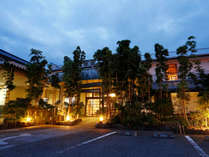 【外観】明治十二年創業。当代で五代目となる老舗旅館です。