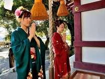 一年の計は、元旦にあり♪初詣(熱川水神社)にて