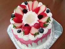 シフォンのケーキはさっぱり食べれます☆