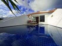 Pool terrace ...