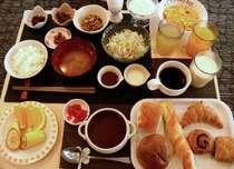 品数豊富な無料朝食バイキングを是非お試しください!(6:30~9:00)