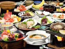 豪華フカヒレ付きの漣御膳は料理長のオススメです。(冬季期間イメージ)