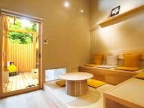 人気の露天風呂付き客室はメゾネットタイプでゆったり♪