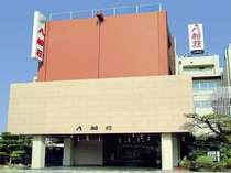 入船荘[外観] 特徴的な色の建物ですので、すぐに見つかります!