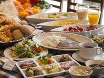 【朝食バイキングイメージ】洋食メニューも充実の約30種類バイキング♪