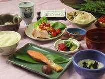 朝食バランスの取れた和朝食です。