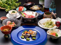 ★地元のものをふんだんに使用した和食会席(メニュー例)