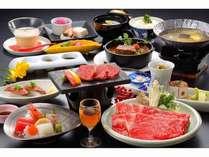 二人で食べたい米沢牛プラン☆女性に嬉しい色浴衣&赤湯産のグラスワイン付き♪♪