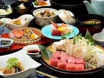 赤湯温泉ワインの饗宴☆温泉卵で食べる厚さ2cmすき焼きプラン!!【グラスワイン特典付き】