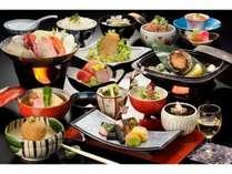 【バリュープラン】海の幸 宴膳 鮑の陶板焼き&海鮮辛味噌鍋