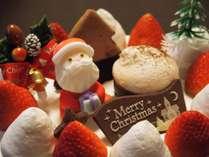 【温泉で過ごすX'mas】クリスマスケーキ&スパークリング&貸切風呂★夕食は米沢牛と山形牛♪