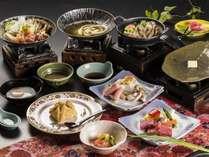 【夕食メインが選べる】~お好きな組み合わせ、3種のメイン料理を選択~国産牛or山形豚or東北地鶏