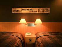 【なごみ館】(洋室)ツインベッドのお部屋になります