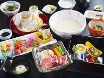 ■とちぎ霧降高原牛の陶板ステーキにお腹も大喜び♪(一例)