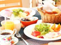 【朝食】2パターンの朝食をお楽しみください