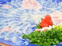 """唐戸市場より直送!新鮮な「ふぐ」の""""プリプリ""""とした食感は本場下関ならではの美味しさ"""