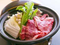 【お料理一例】山の幸も絶品♪舌でとろけるほど柔らかな『佐賀牛』の陶板焼き
