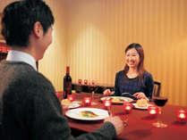 煌めくガーデンレストランで素敵なディナータイムを! アニバーサリープラン★