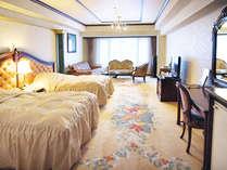 【新館洋室】ツインタイプのお部屋。