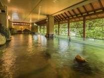 【露天風呂】本館・湯酔郷~新緑の季節~日ごろの疲れを癒しましょう♪