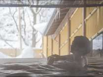 【露天風呂】本館・湯酔郷~冬景色~ゆっくりと何も考えない時間を愉しんで♪