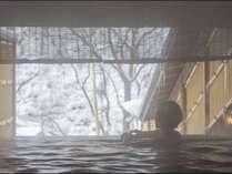 【露天風呂】本館・湯酔郷~冬景色~ちょっと寒くても温泉の心地よさを堪能できるかも?
