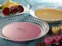 <早期予約40>味なまつり・夏!夕朝食:グランシャリオ☆ビーツとコーンの冷製スープなど♪