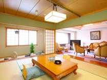 【本館特別室】Bタイプ。和室+洋室のコネクティングルームです。