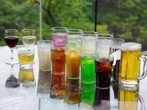 レストラン「グランシャリオ」各種、お飲みものを揃えております。