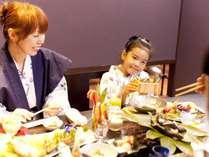 【お食事処~うらら香~】親子でゆっくりとしたお時間を・・・