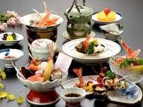 【夕食:お食事処うらら香】祝い膳の料理写真イメージ♪仕入れ状況によって内容変わることがございます。