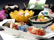 【夕食:お食事処うらら香】法要の膳のです。故人を偲びながらおくつろぎ頂けます。