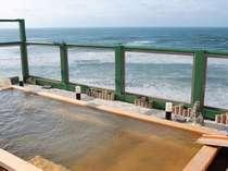 【天女の湯】日本海の絶景を眺める天上露天風呂