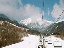 サンメドウズは最高1900mのスキー場。暖冬でもOK